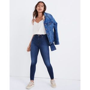 MADEWELL CURVY HIGH WAIST SKINNY JEANS 💖IN STORES